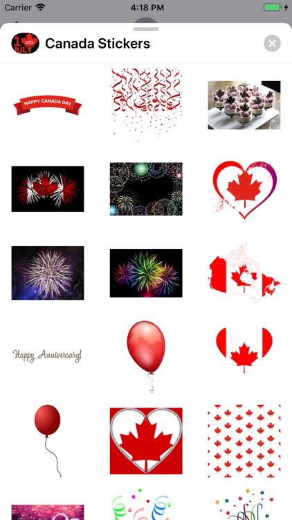 Canada Day Sticker Pack