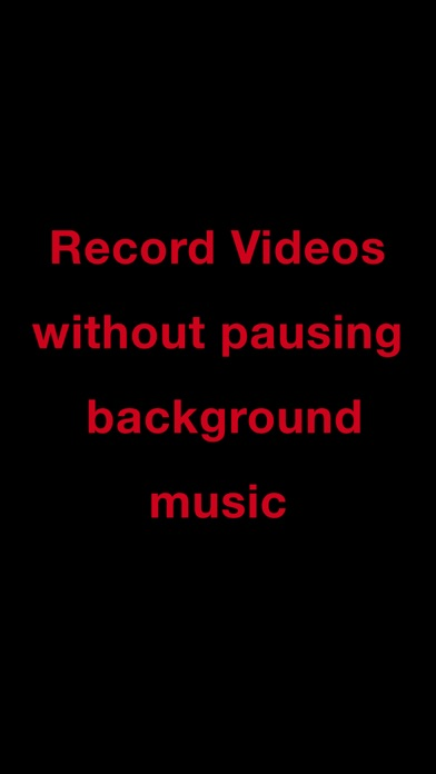 Mideo: Record Video With Music screenshot 3