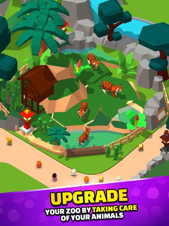 Idle Zoo Tycoon 3D iPad app afbeelding 4