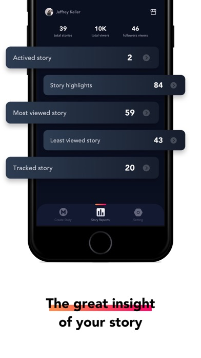 Story Reports for Instagram Screenshot