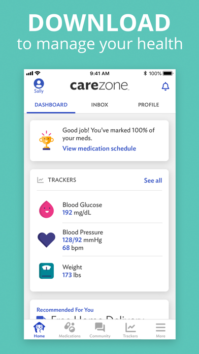 download CareZone apps 2