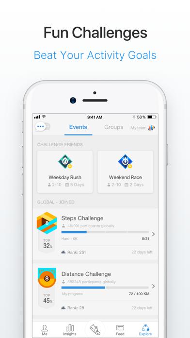 Pacer Pedometer & Step Tracker Screenshot