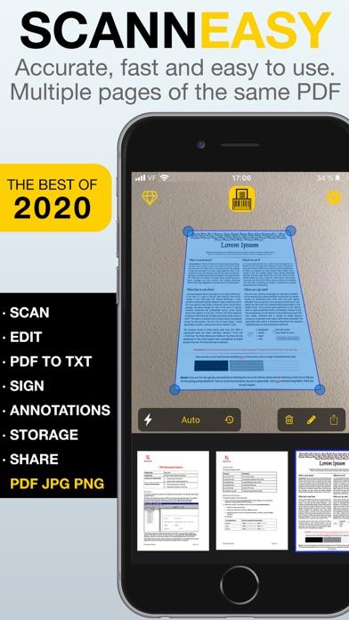 Scan Easy - PDF Scanner App screenshot 1