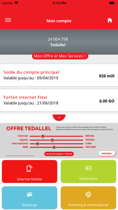 My Ooredoo Tunisie by Ooredoo Tunisie SA (iOS, United States