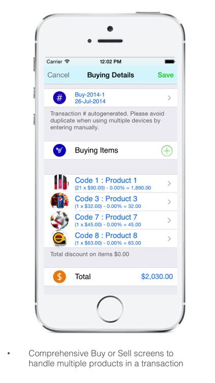 Goods Inventory Pro Retailer screenshot-1