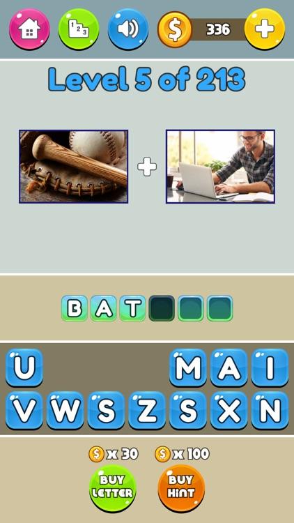 2 Pics What Movie - Word Quiz screenshot-4
