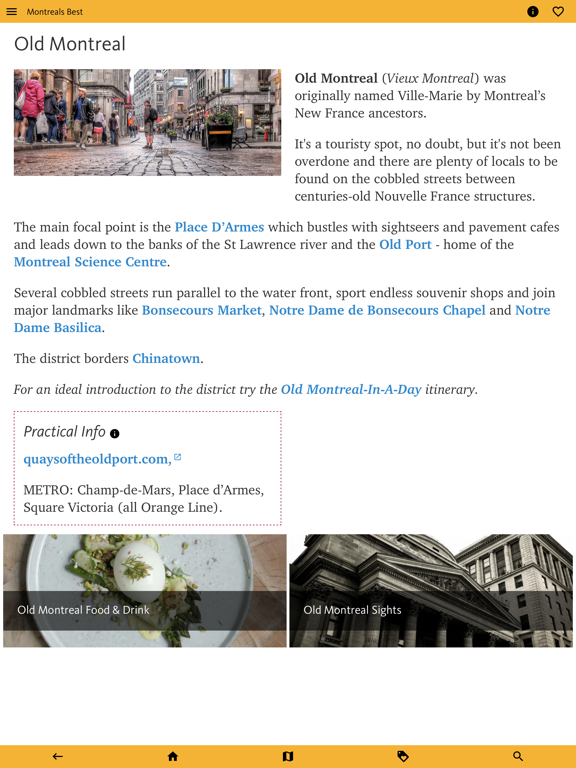 Montreal's Best: Travel Guide screenshot 14
