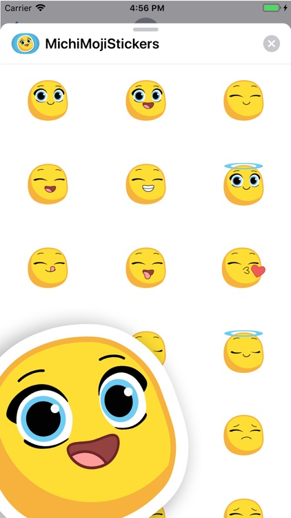 Michi Moji- Fun Emoji Stickers screenshot-3