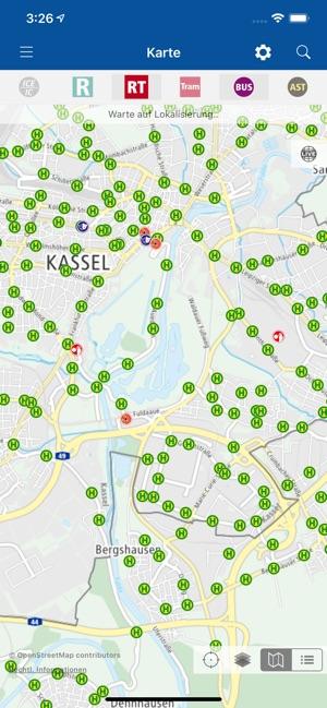 Karte Kassel Und Umgebung.Nvv Mobil Im App Store