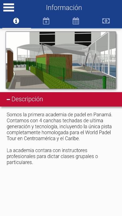 Panama Padel Academy screenshot 2