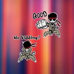 Samurai Judo Stickers