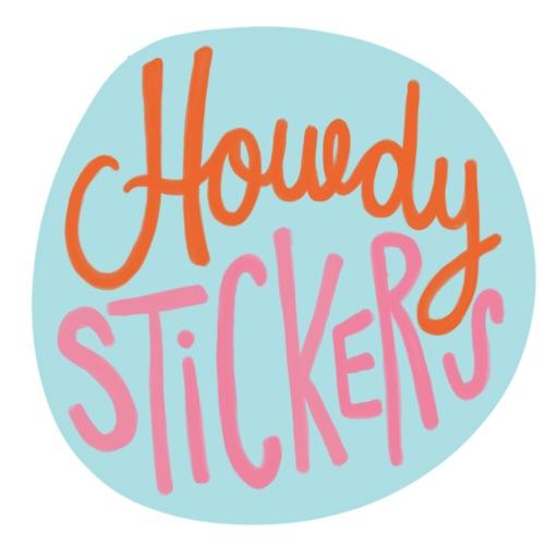 Howdy Stickers
