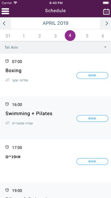 PURE - gym & studio screenshot 3