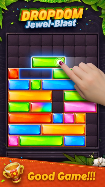 Dropdom™ Puzzle Block Jewel screenshot-0