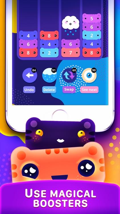 CATRIS - Merge Cat Game screenshot-3