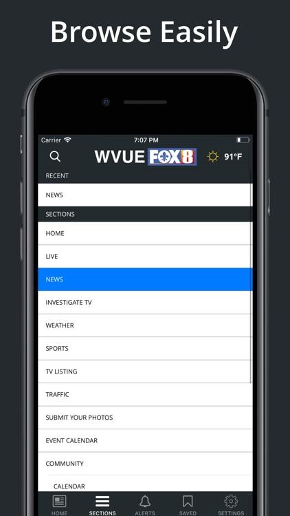 FOX 8 WVUE Mobile screenshot-5