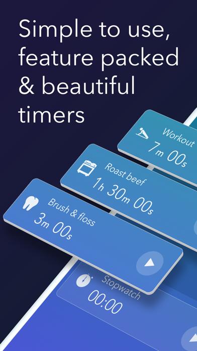 Timer & stopwatch - Timeglassのおすすめ画像1