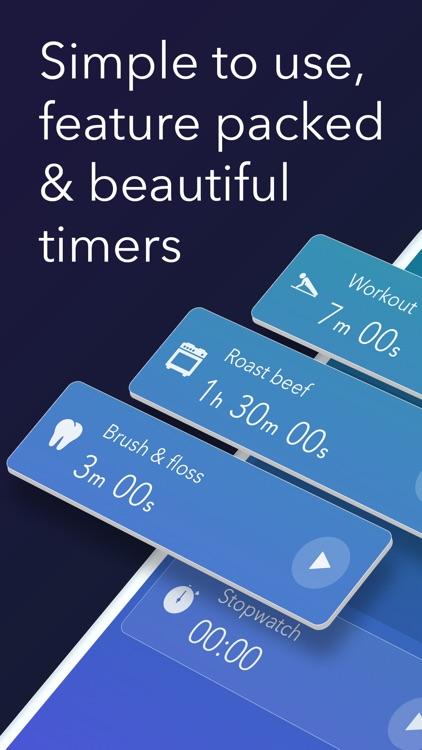 Timer & stopwatch - Timeglass screenshot-0