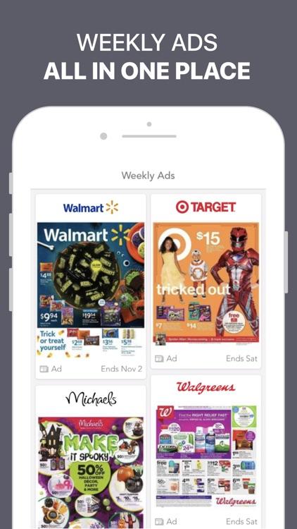 Shopular: Coupons & Cash Back screenshot-3