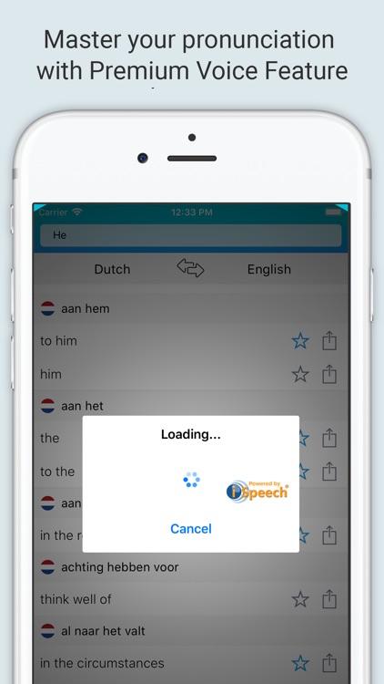 English Dutch Dictionary + screenshot-3