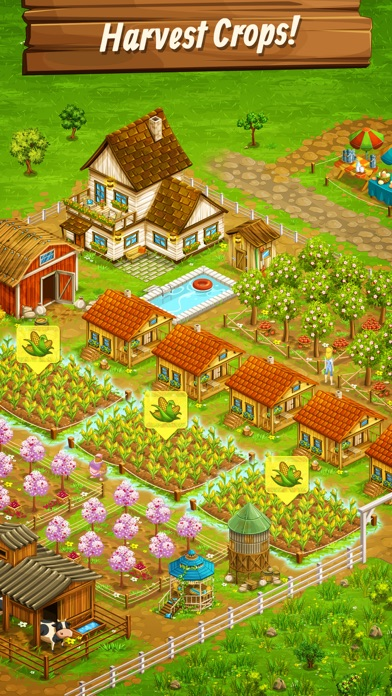 Big Farm: Mobile Harvest Screenshot on iOS