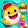 Pinkfong!サメのかぞくぬりえ - iPadアプリ