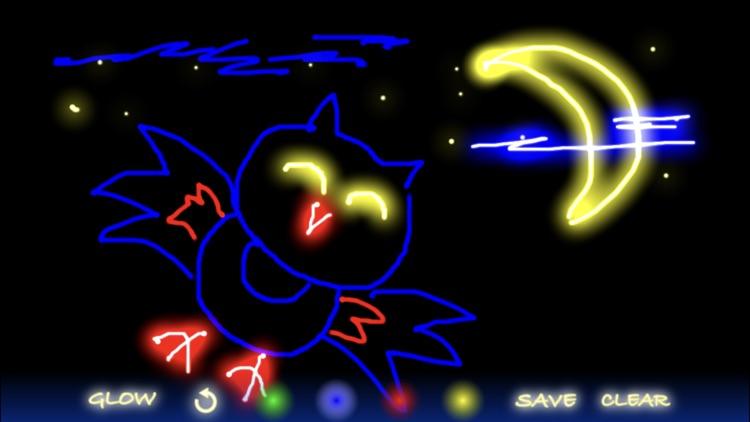 Glow Doodle screenshot-0