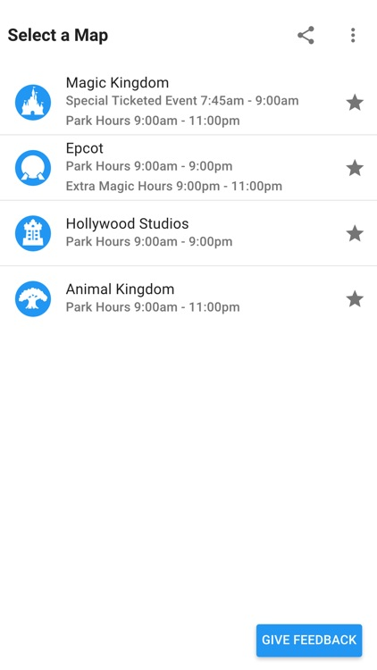 Merlin's Map for Disney World screenshot-3