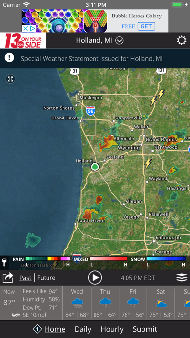 Wzzm 13 Weather review screenshots
