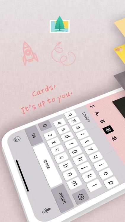 Text Card - Be your artist screenshot-3
