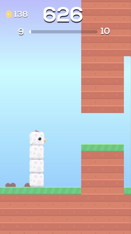Square Bird. screenshot-0
