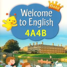 香港小学英语四年级上下册 - Gold升级版4A4B