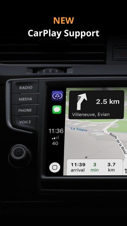Magic Earth Navigation & Maps screenshot-0