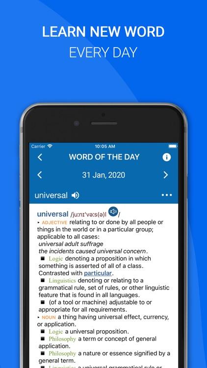 Oxford Dictionary of English screenshot-4