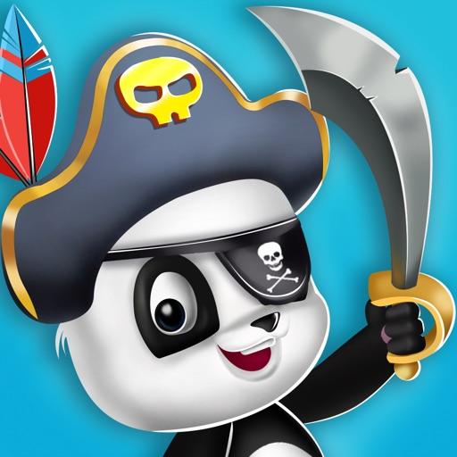 Pirate Panda Treasure Hunting