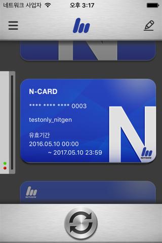 NITGEN Mobile Card - náhled