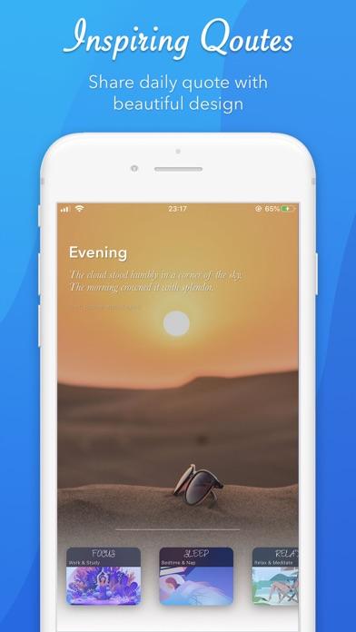 CliGo: meditieren, schlafenScreenshot von 1