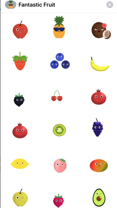 Screenshot of Fabulous Fruit App