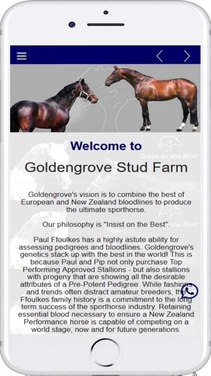 Goldengrove Stud Farm