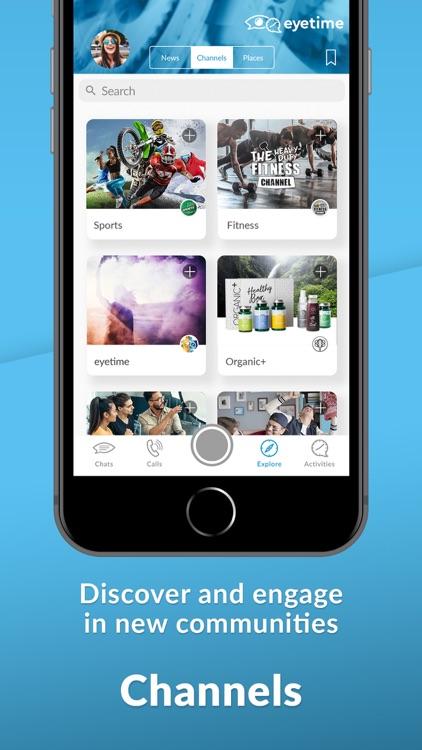 eyetime messenger & calls screenshot-5