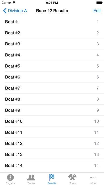 Sail Score