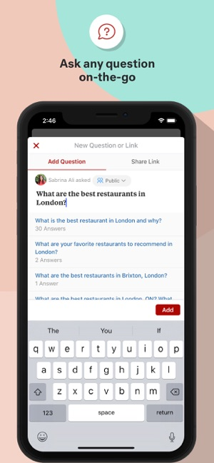 9215a7e9811  Quora on the App Store