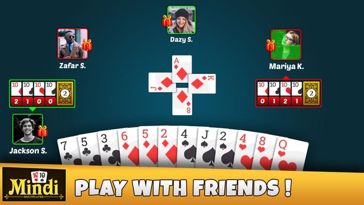 Mindi Multiplayer - Card Game screenshot-4