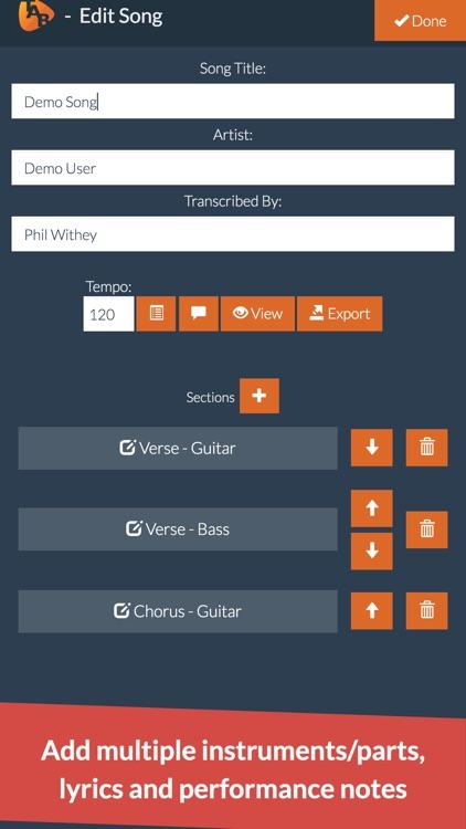 Guitar Notepad - Tab Editor