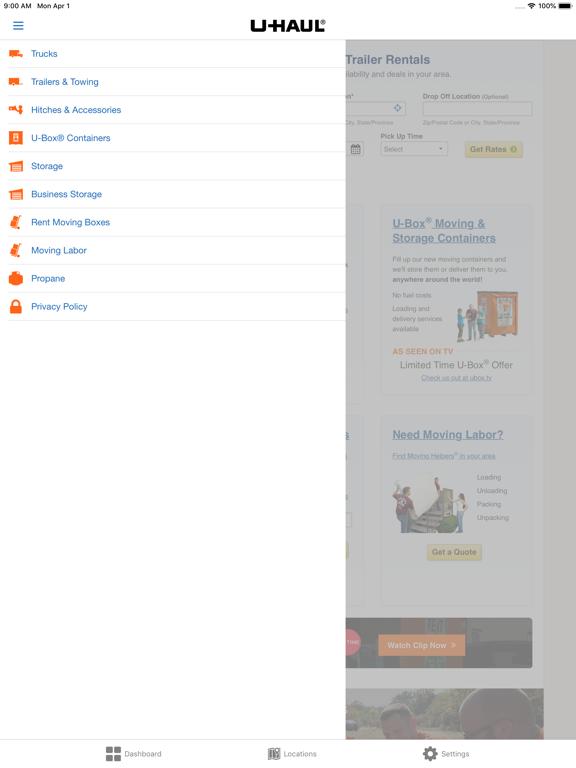 U-Haul by U-Haul International, Inc  (iOS, United States