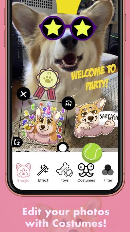 MaxiMojis - Corgi dog stickers screenshot-4