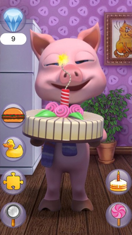 Talking Pocket Piglet screenshot-0