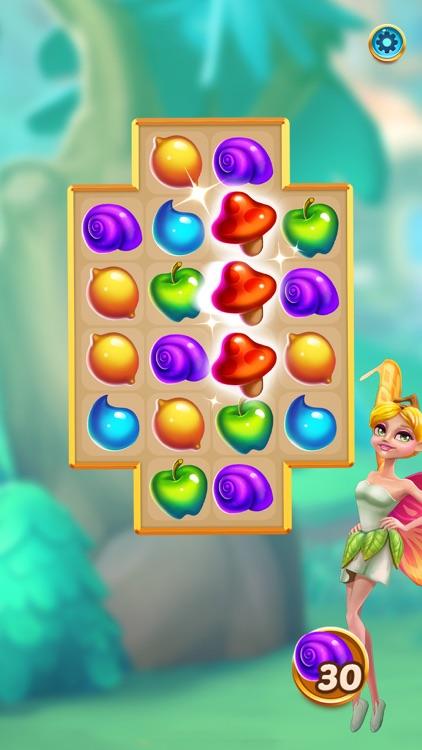 Magic Meadow: Fruit Match-3 screenshot-0