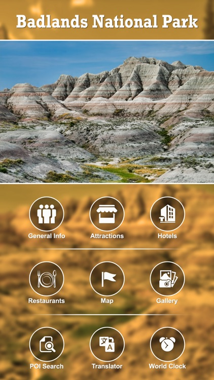 Badlands National Park Guide screenshot-1