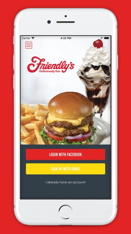 Friendly's Ordering